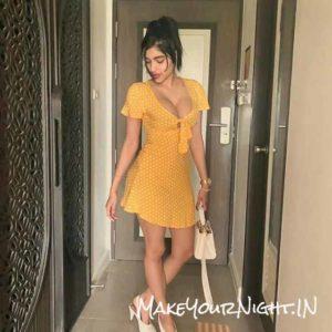 Priya - Ready for Sex in Delhi in Yellow dress